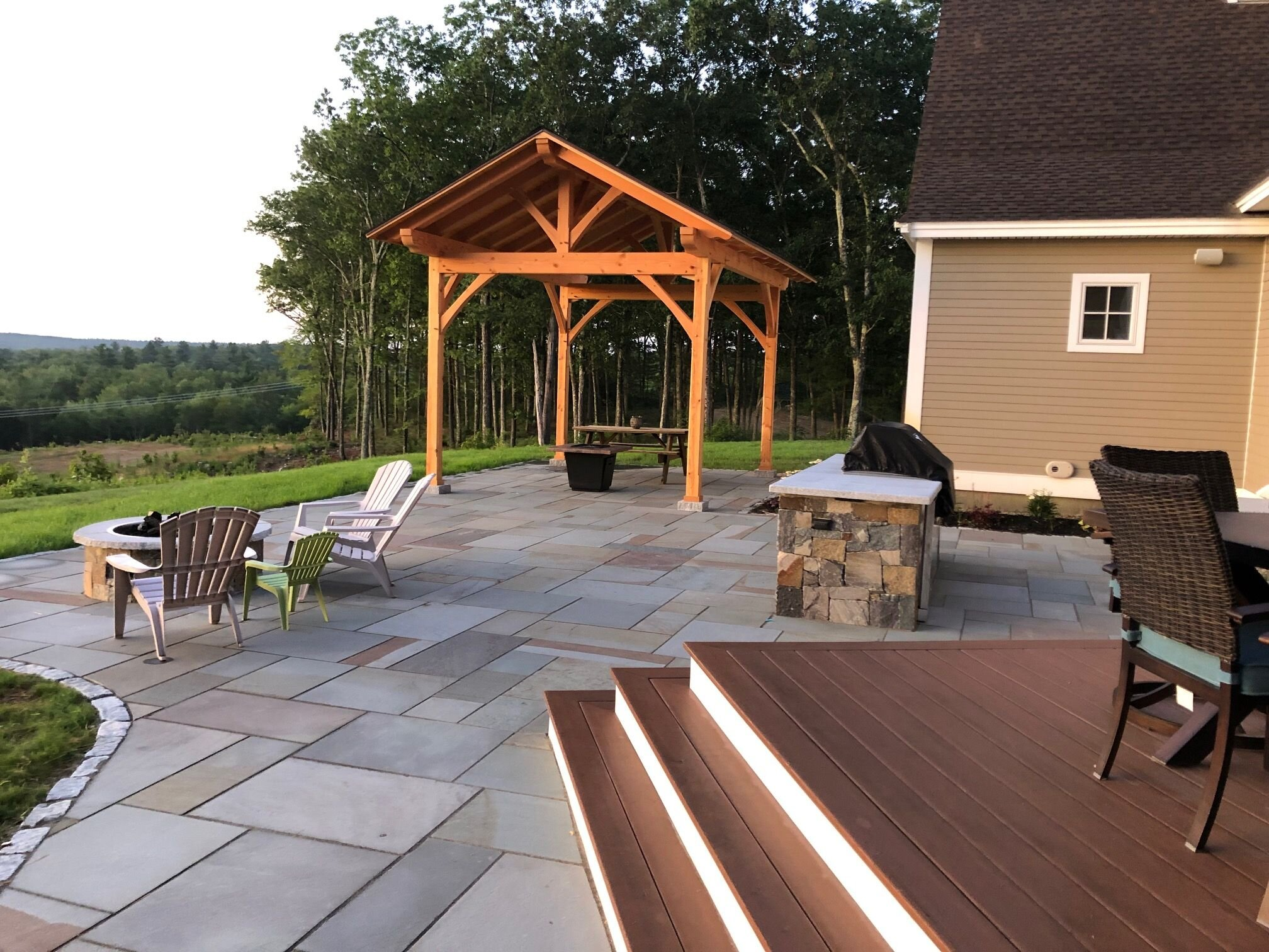 Landscape Design Ideas For Private Patios In Hollis Nh Northern