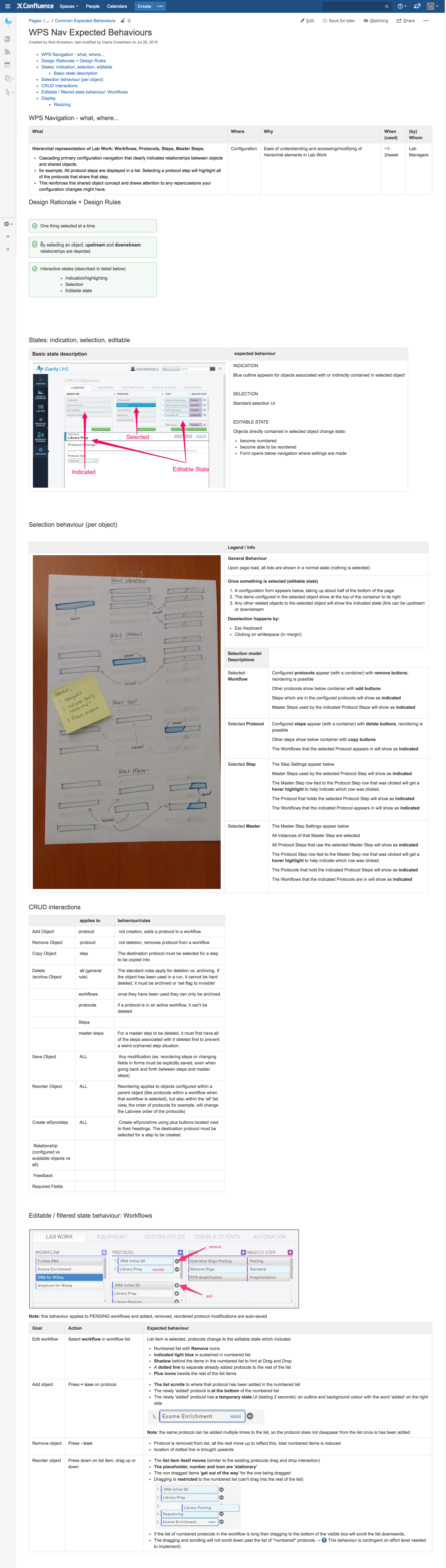 Design Documentation:  I produced this document initially and then developers contributed to it once implementation began. To view this document more easily, please  go here .