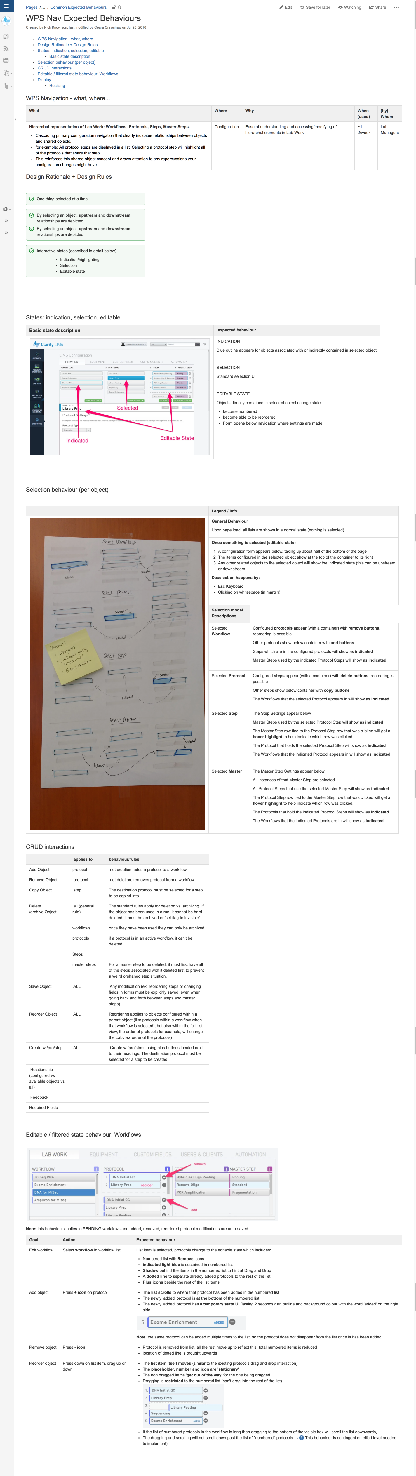 WPS Nav Expected Behaviours - Clarity LIMS - GLS Wiki.png