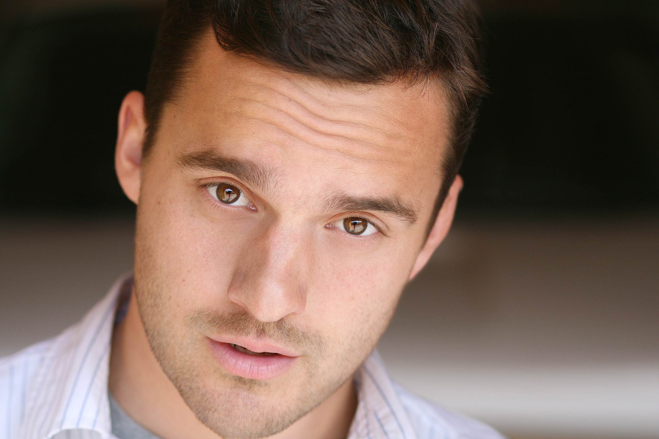 Headshot photographer in Los Angeles Jeff Ellingson headshot of Jake Johnson