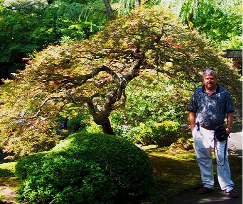 Maple Ridge Nursery co-founder Mike Francis on a trip to Oregon.