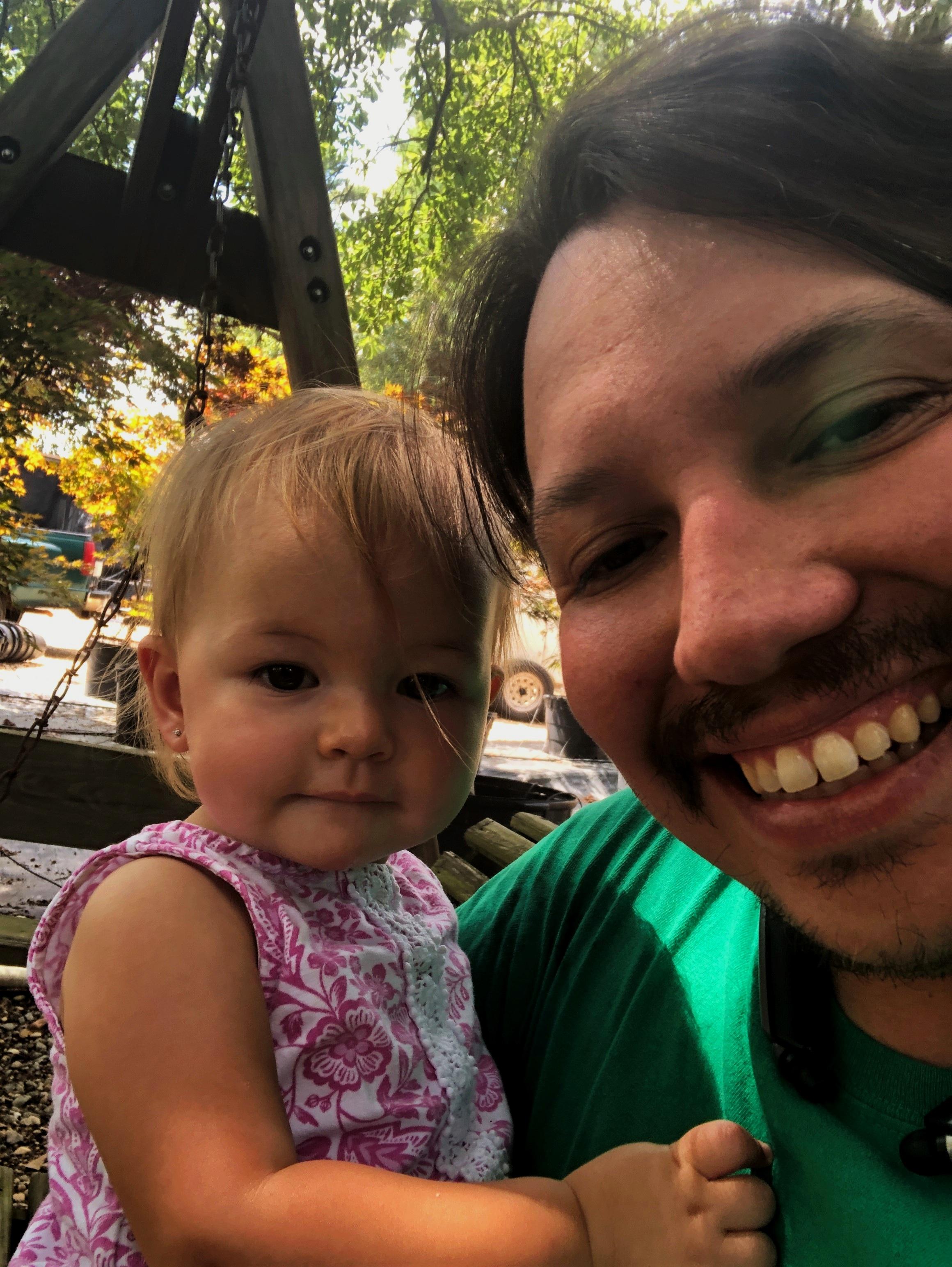 Michael Francis and daughter Sophia Francis