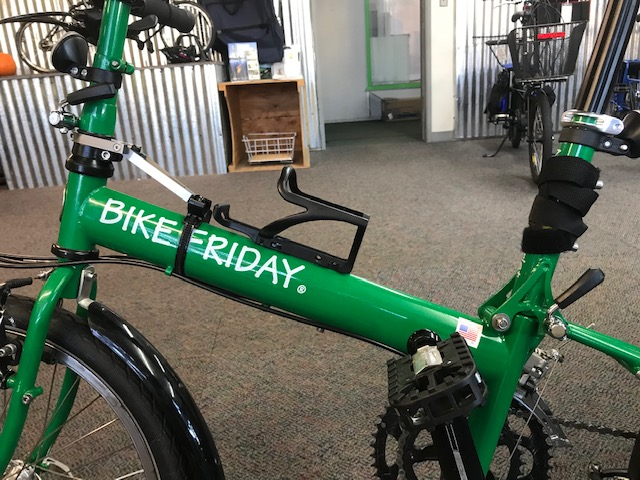 SteerStopper® on Bike Friday