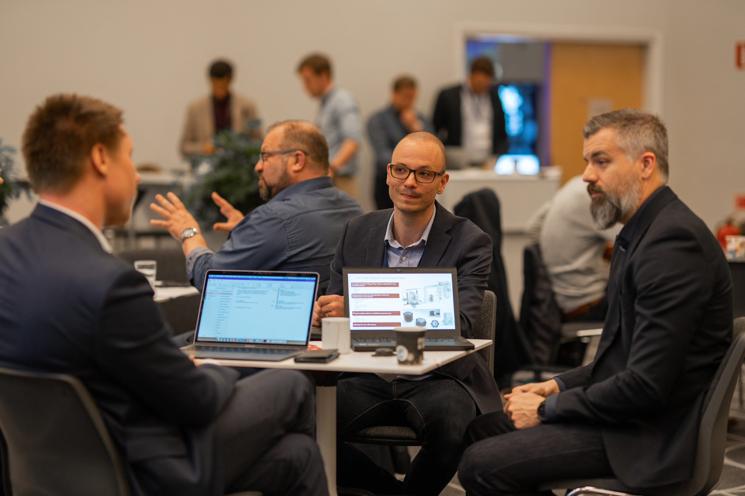 Over 110 meetings took place during the 3 days of matchmaking (Photo: Anders Nicander for Svenska Mässan)