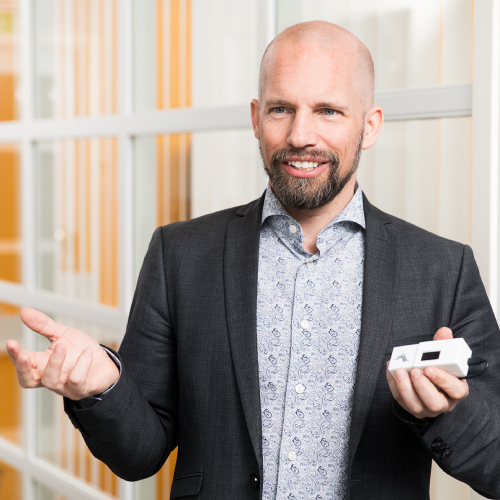 """Patrik DahlqvistCEO of Insplorion - """"We are impressed by Ignite Sweden's performance. Through their program, startups can meet the right people directly in an efficient way, instead of getting trapped by large companies' bureaucracy"""".www.insplorion.comLocation: Gothenburg"""