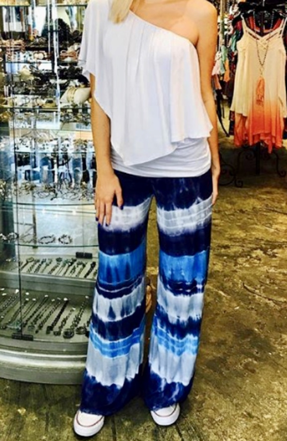 I love these!!! Cheri's favorite tie-dye look from her boutique -  Imagine That