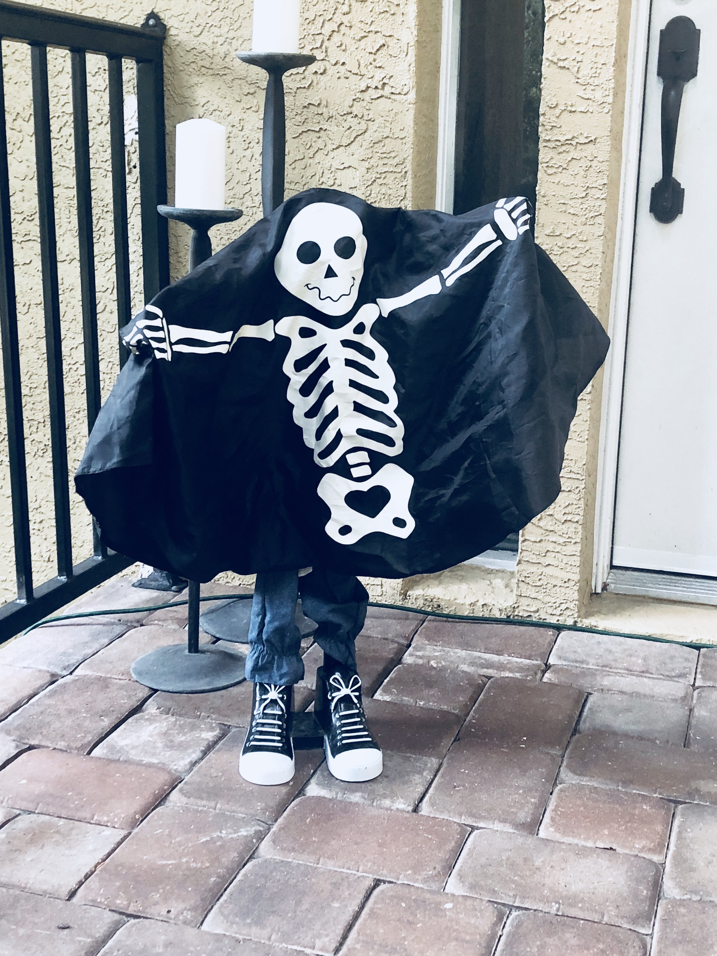This little guy is one my favorite Halloween decorations we have - Check out this on on   Amazon