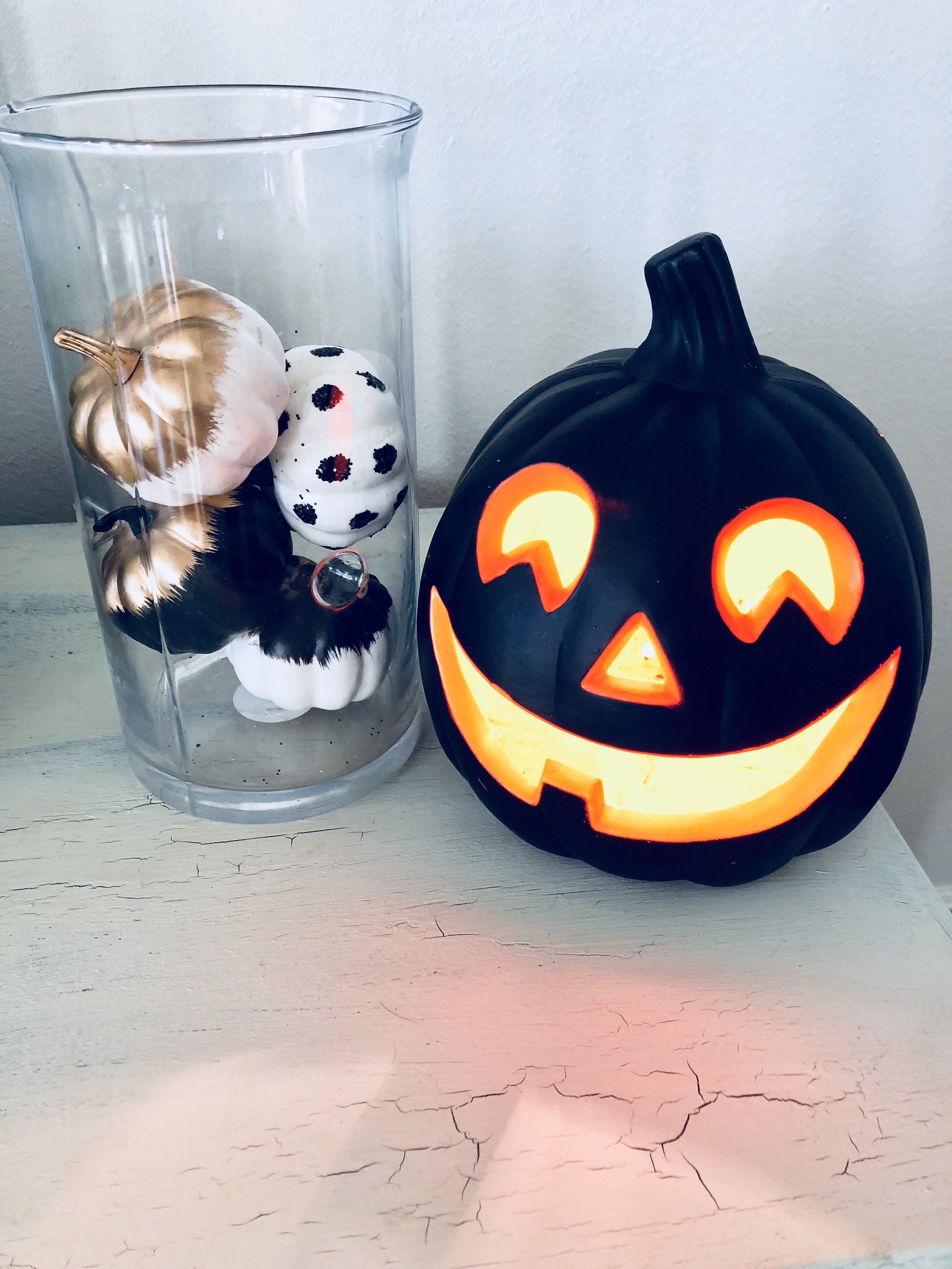 Love these little pumpkins from Target