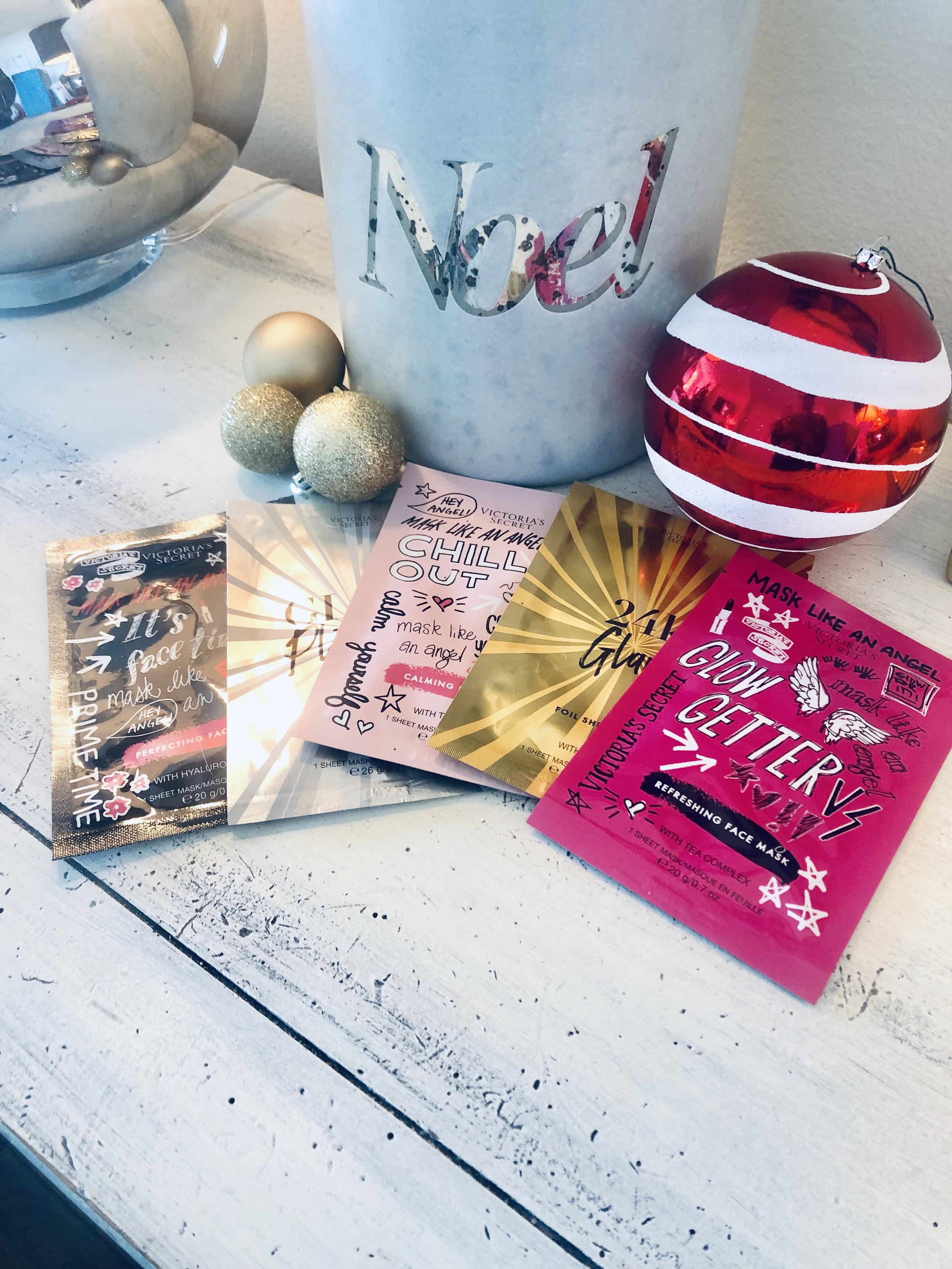 I am a big facial mask girl and love the  Calming Face Mask  from Victoria's Secret with tea tree oil - Perfect stocking stuffer!!