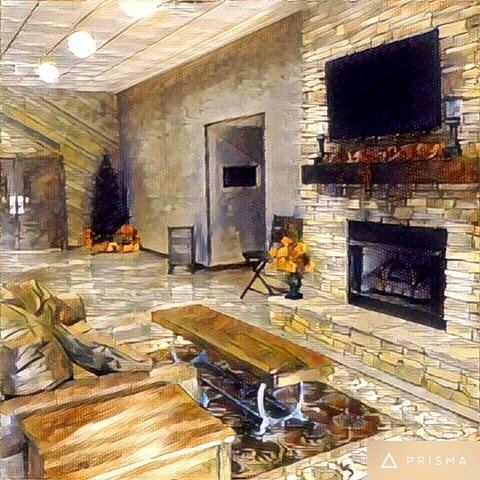 A Prisma rendering of our new lobby.