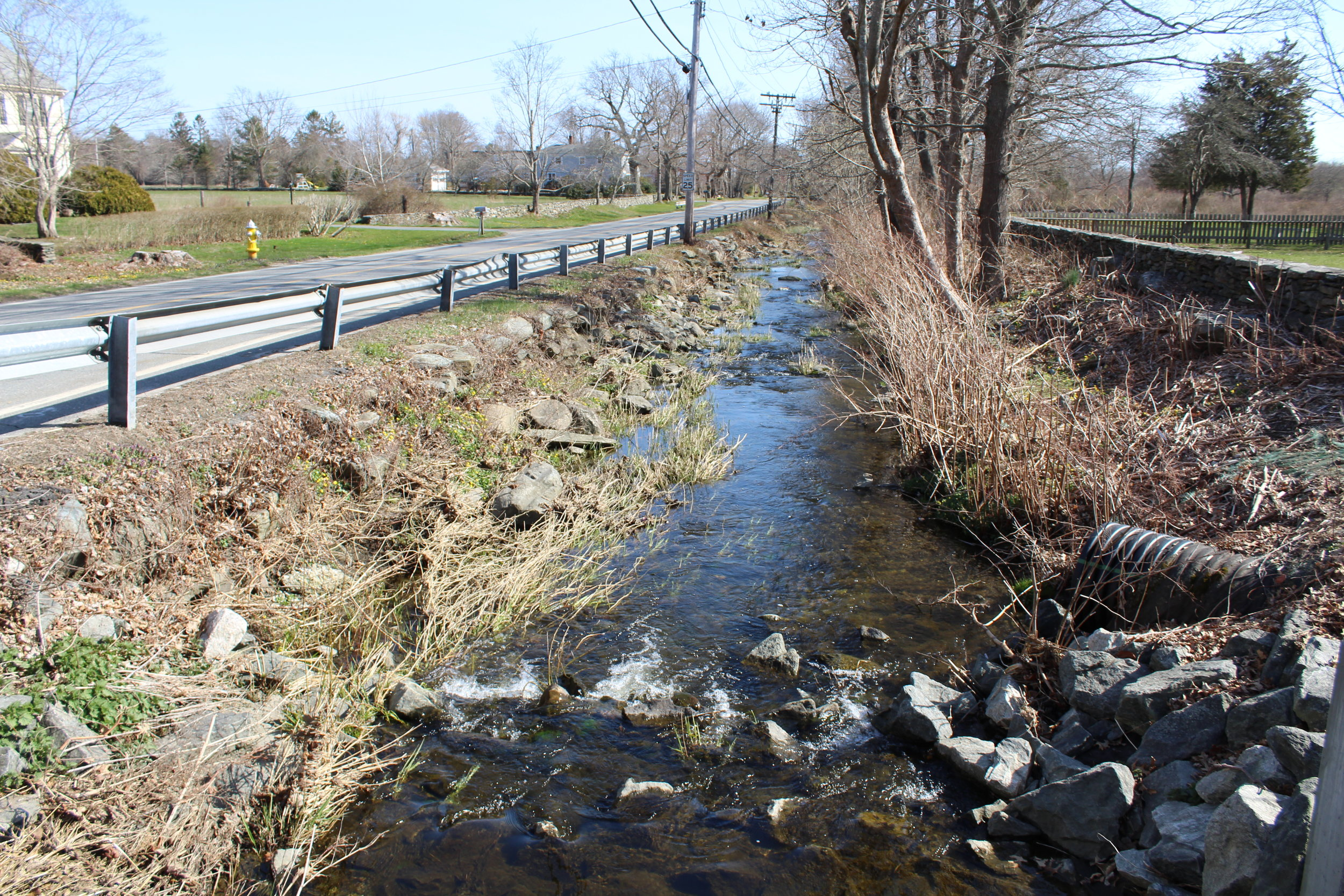 The Maidford River is the principal source of water to Nelson Pond and Gardiner Pond, which are drinking water supplies for the City of Newport Water Division. Both the Maidford River and Paradise Brook are listed on the Impaired Waters List prepared by RIDEM.