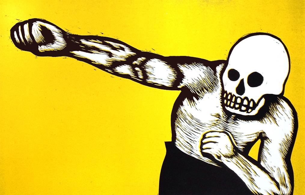 Boxing Skeleton