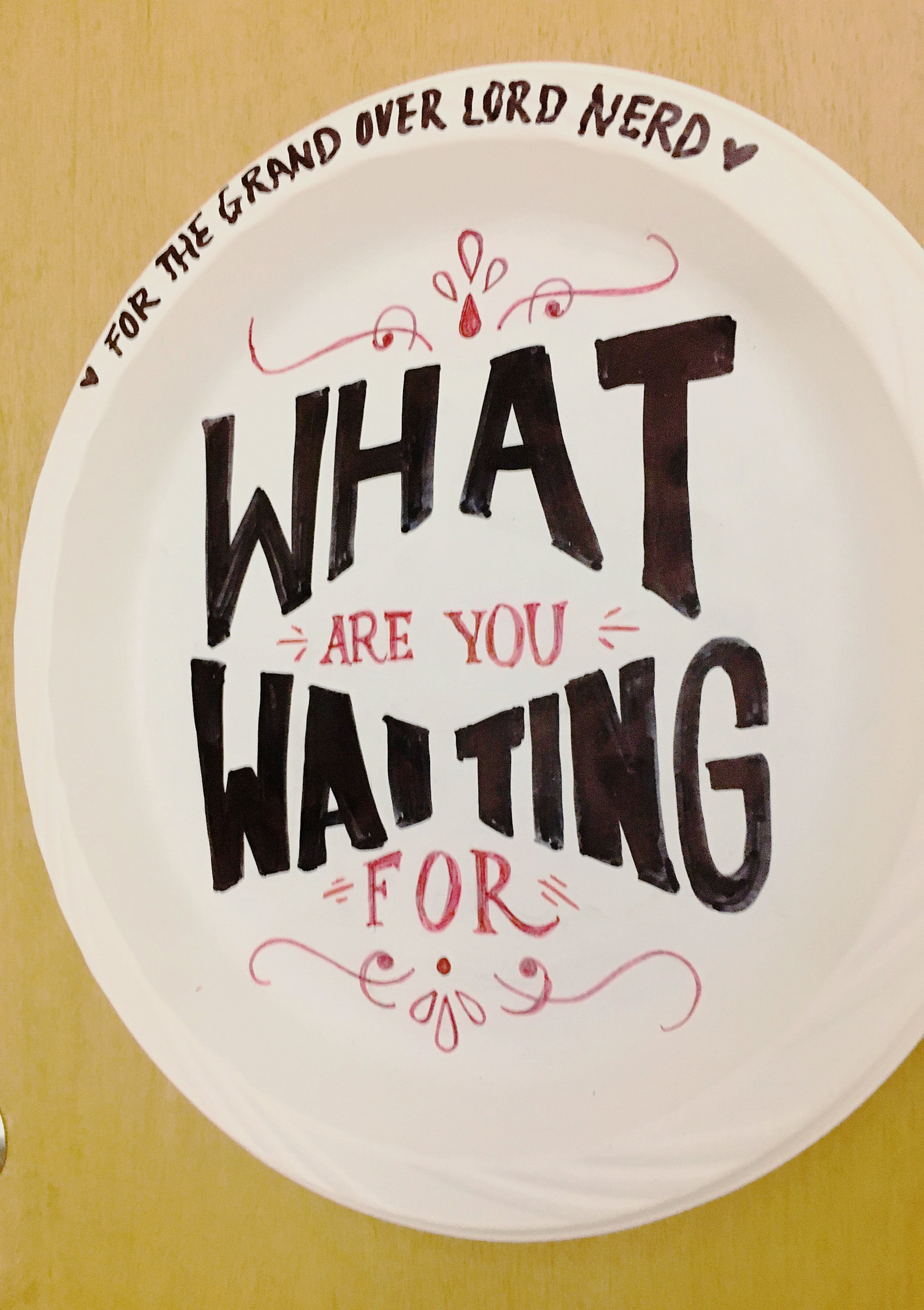 "April 10 - ""What are you waiting for?"""