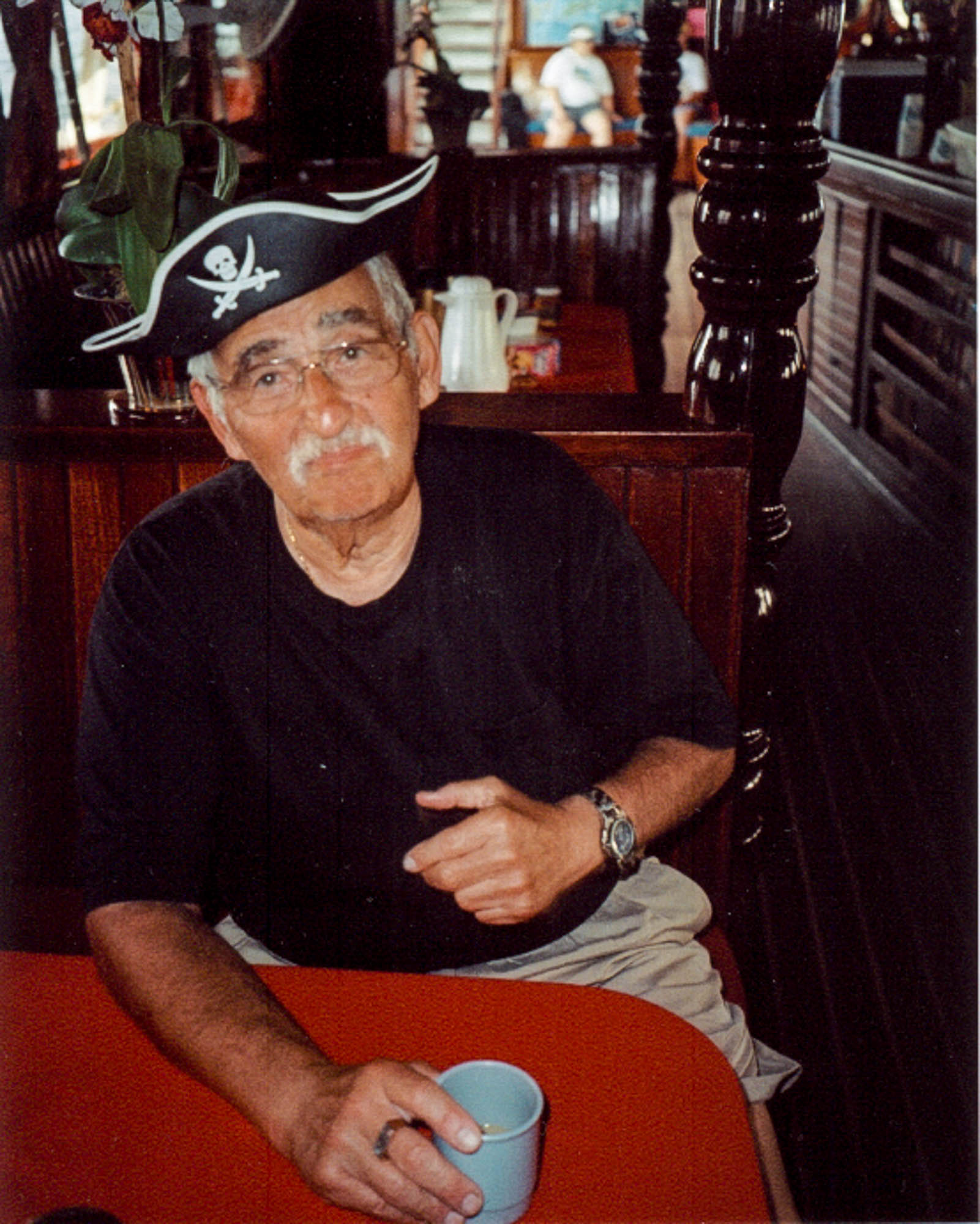 On a Windjammer cruise in the Virgin Islands, 2006