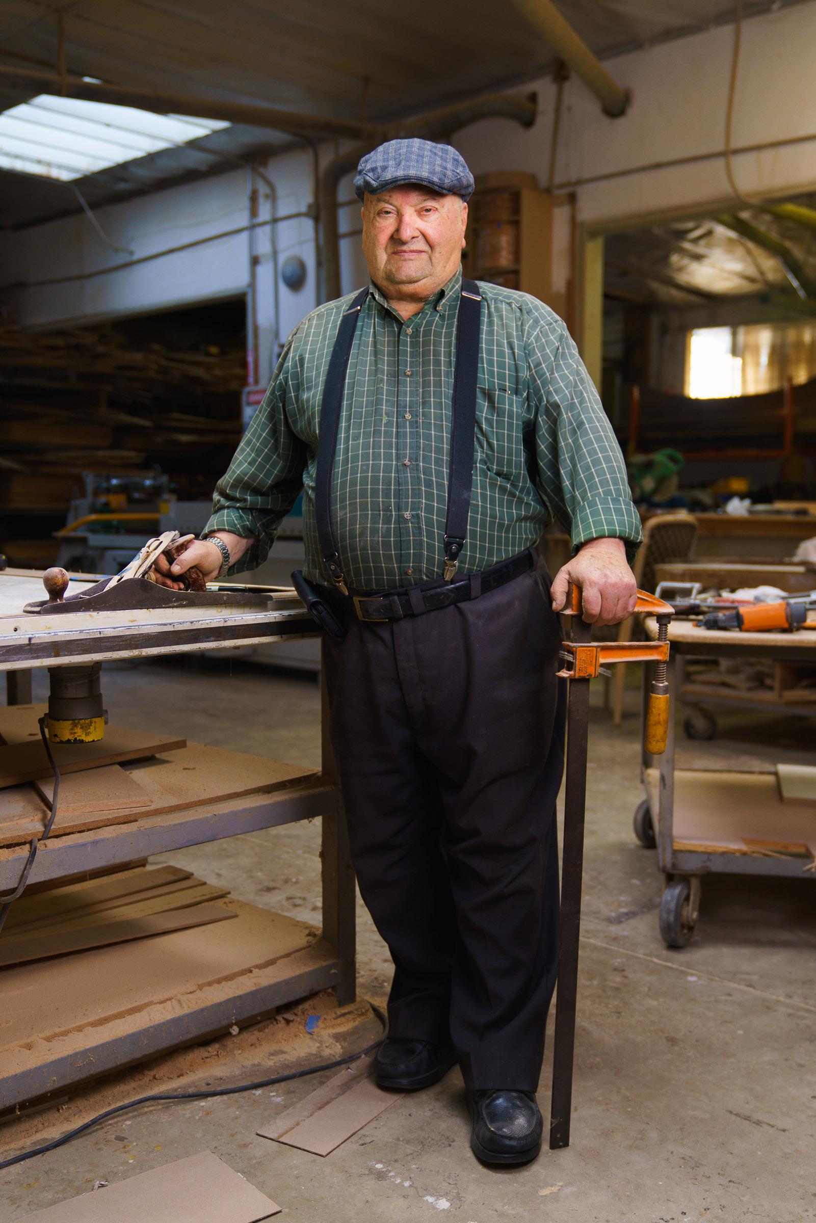 Hamo Ashasian | Cabinet maker -