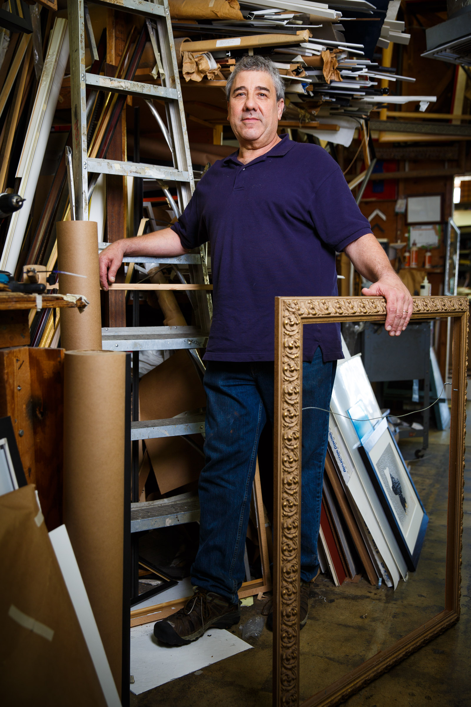 Charles Sztanski | Picture framer -