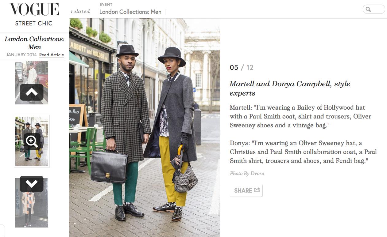 British Vogue Street Style