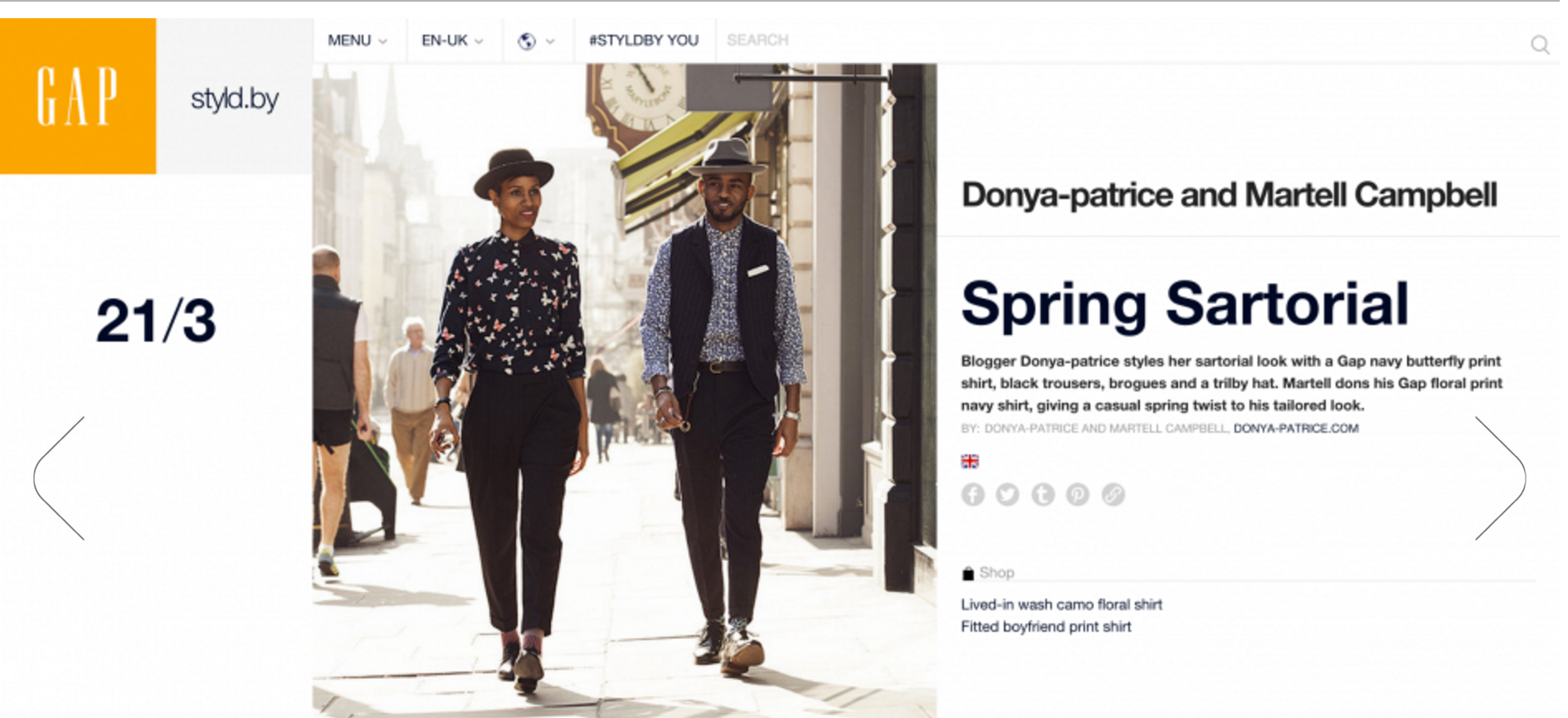 Gap Styld.by Campaign