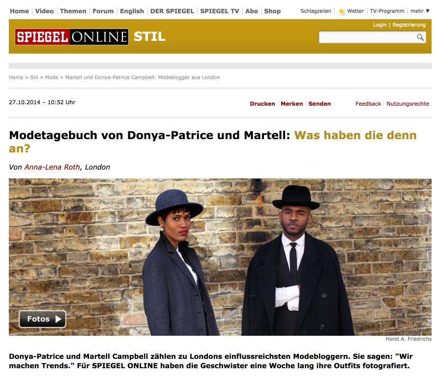 Spiegel New Interview