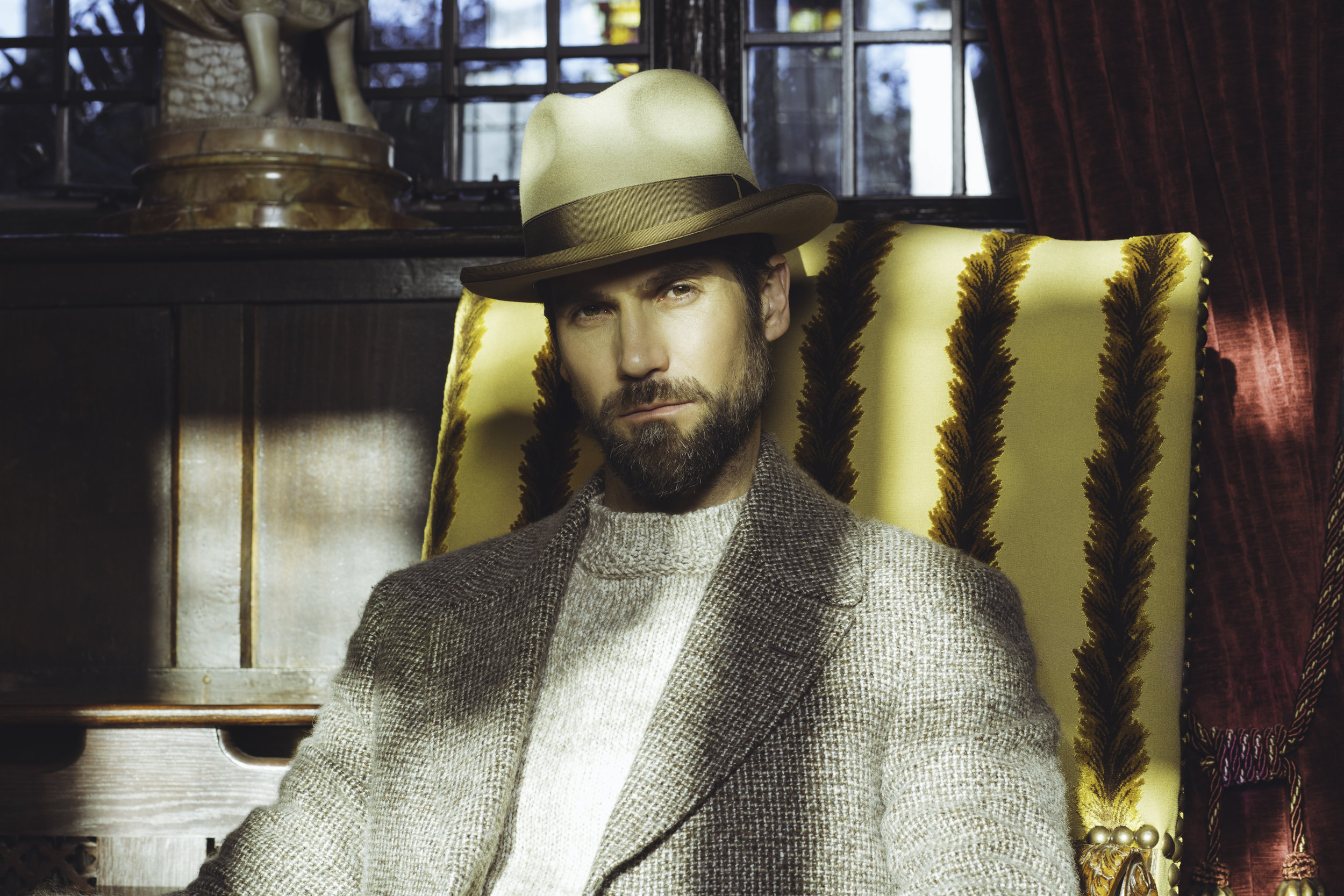 LOCK & CO MEN'S TRANSITIONAL CAMPAIGN