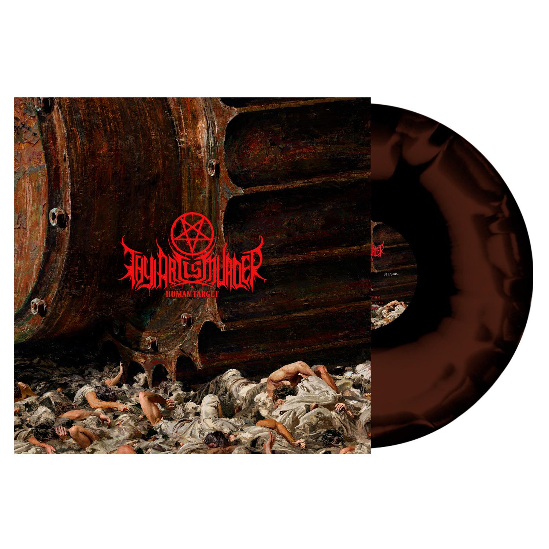 Thy Art Is Murder - Human Target - Brown/Black Swirl Vinyl