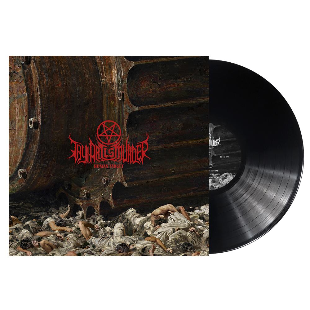 Thy Art Is Murder - Human Target - Black Vinyl