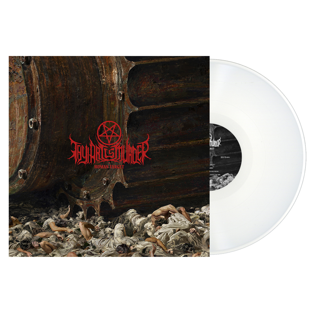 Thy Art Is Murder - Human Target LP (White Vinyl).jpg