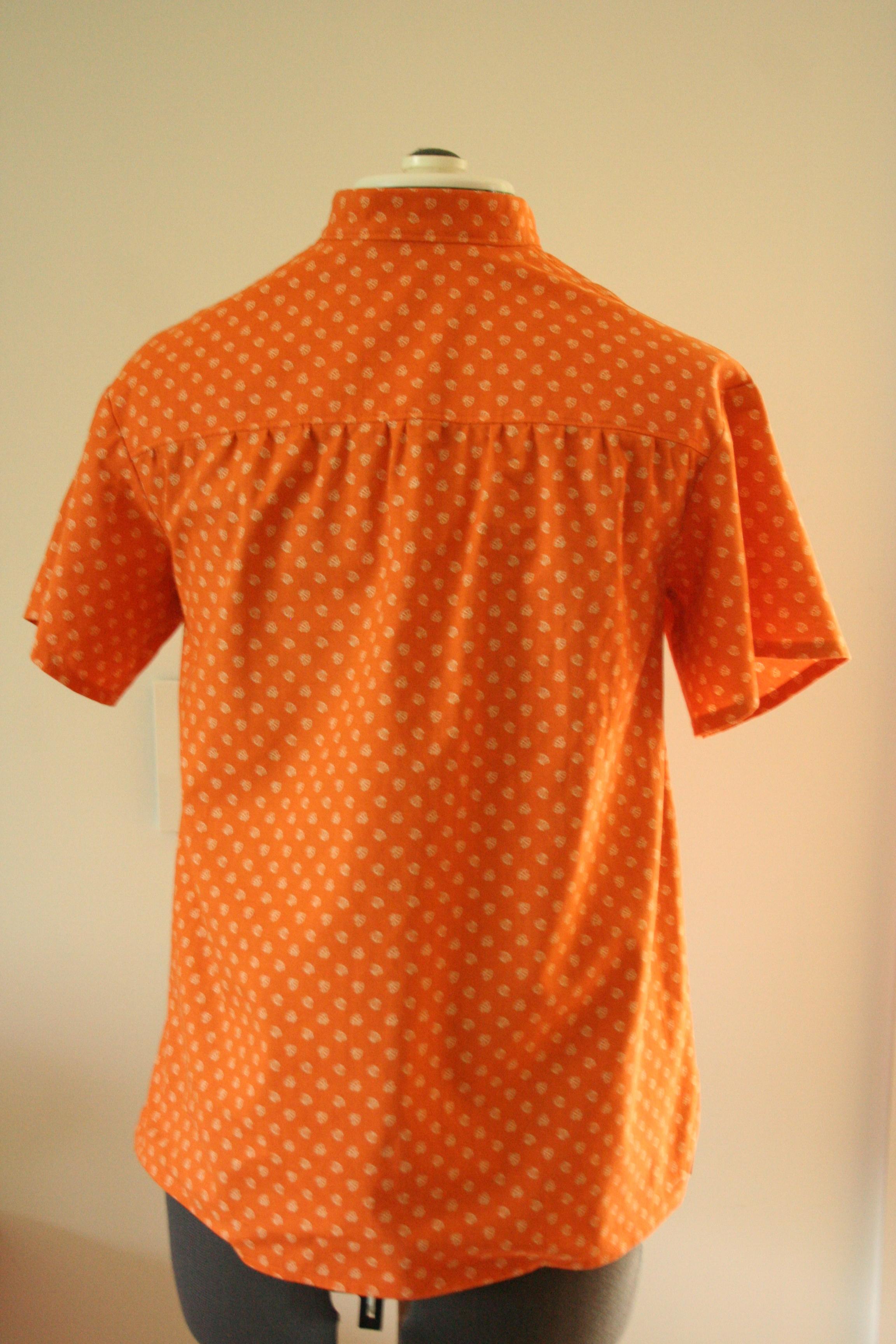 heidi pullover back on dressform