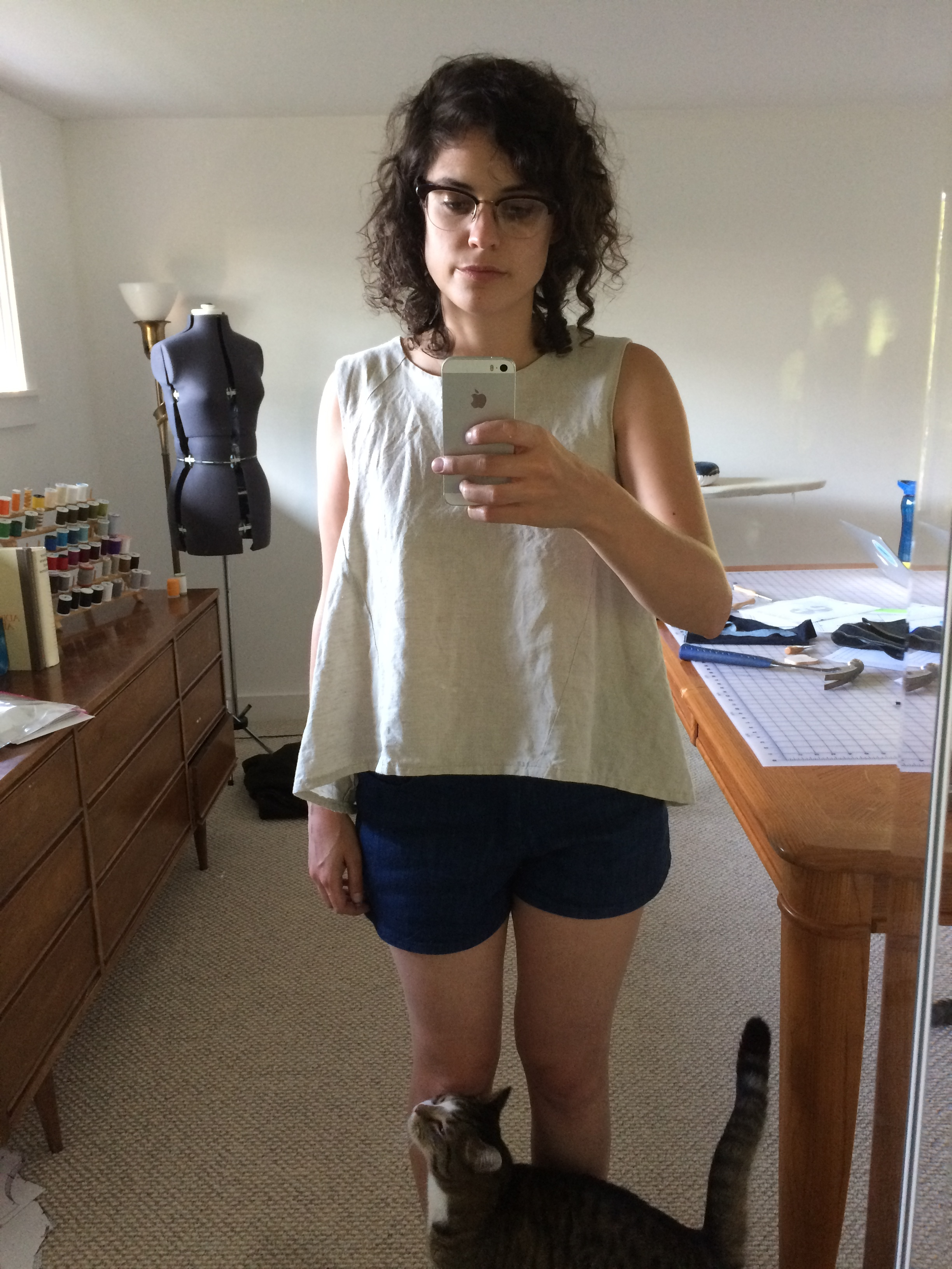 Perhaps my favorite outfit! Collins top with maritime shorts