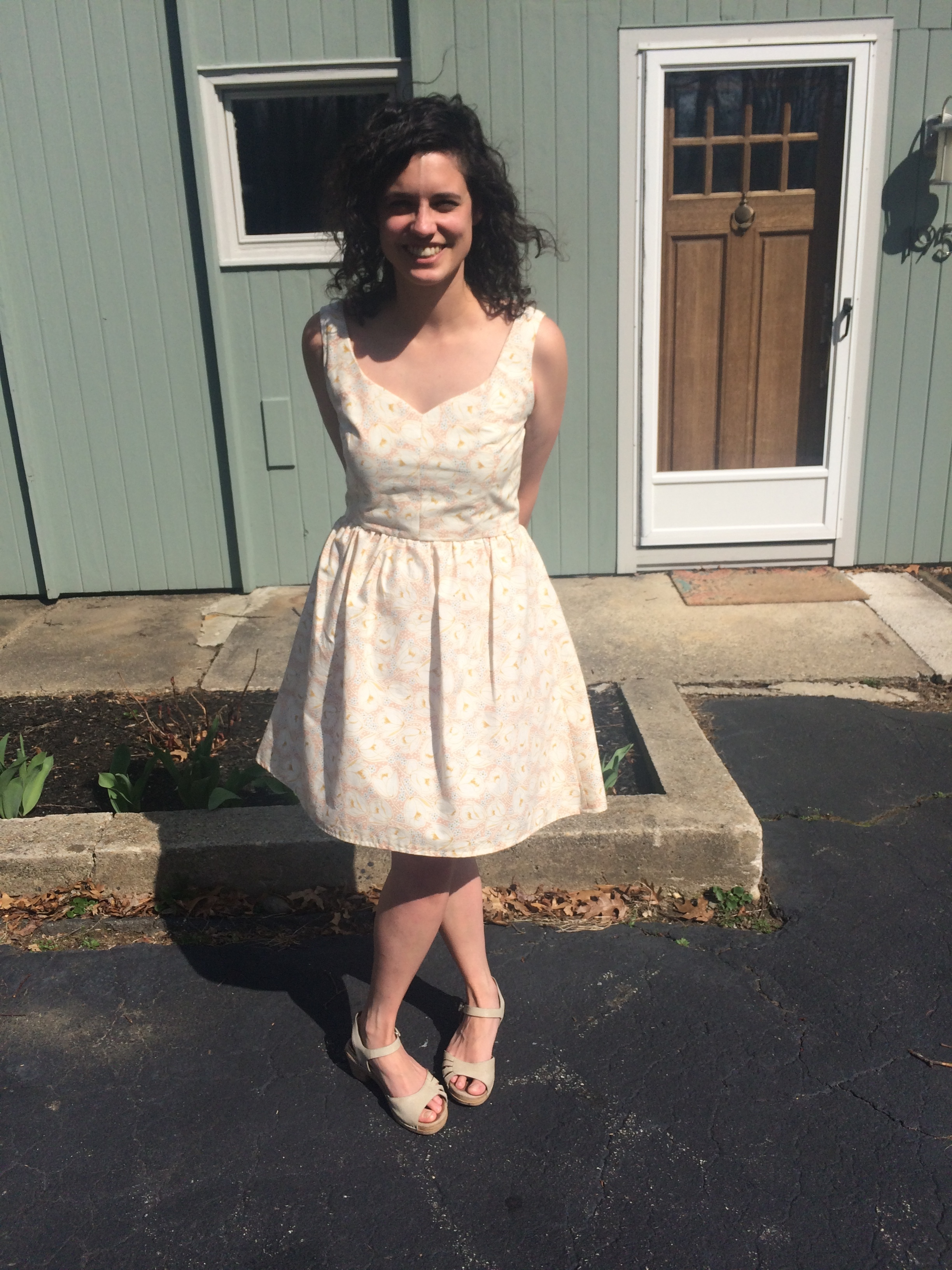 Easter Sunday - the one time I wore this dress