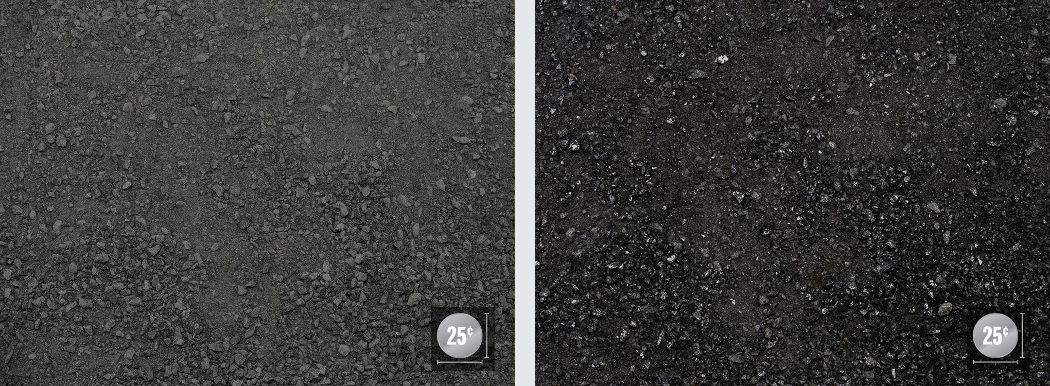 Screenings (Left: Dry, Right: Wet)