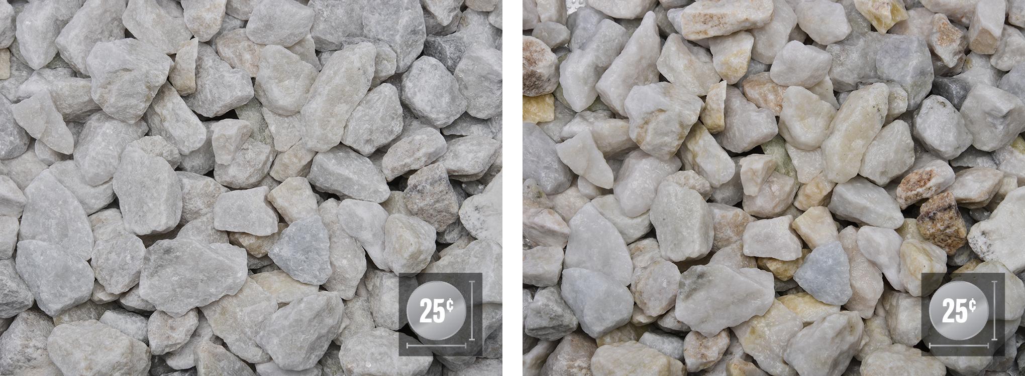 """1"""" - 1 1/2"""" (Left: Dry, Right: Wet)"""