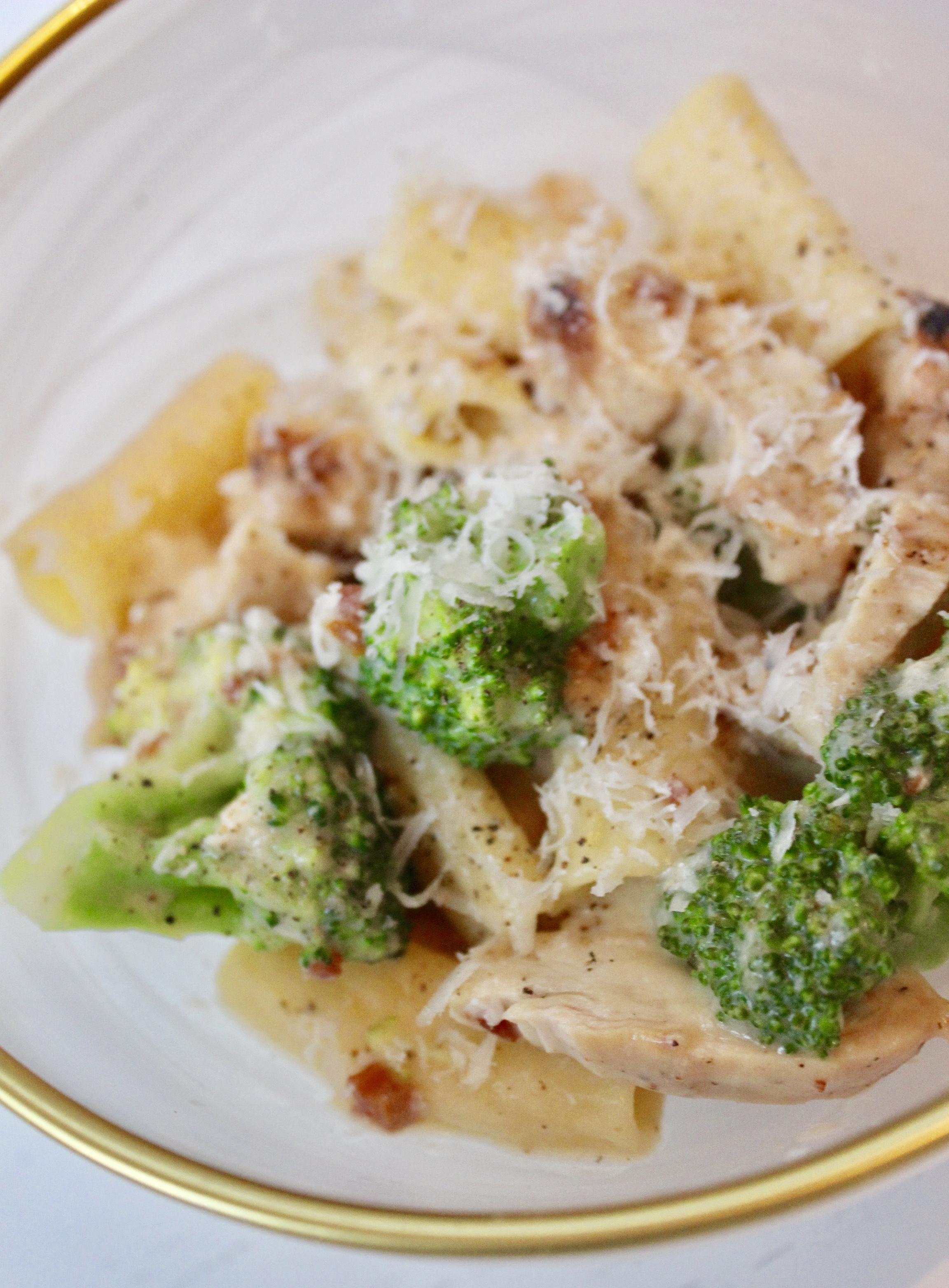 Chicken Broccoli Rigatoni