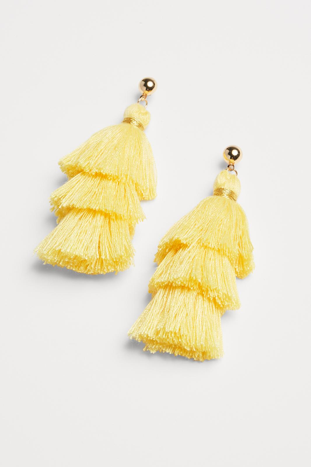 Yellow Tassel Earring.jpg