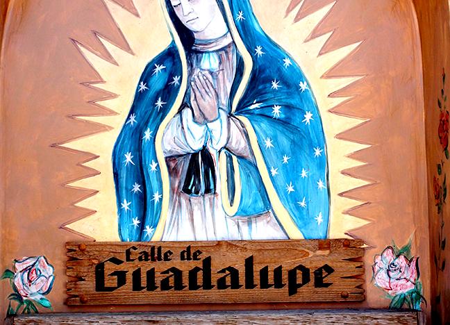 Calle de Guadalupe  La Posta Acrylic Artist unknown Unknown date