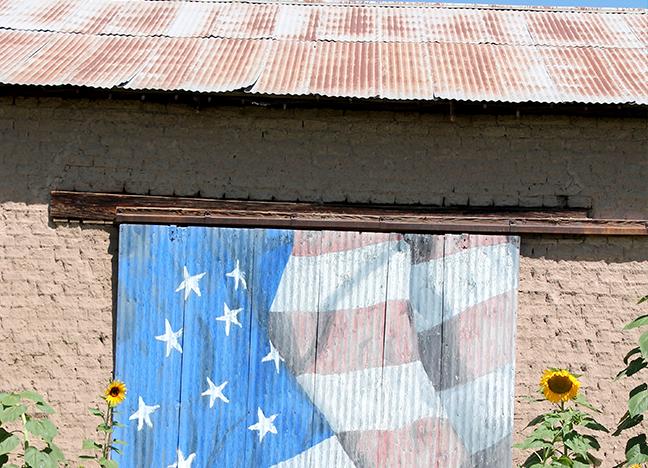 2350 Calle de Parian Private storage shed Acrylic Bob Diven Date unknown