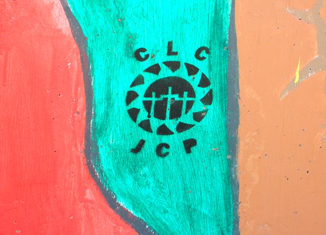 1900 Main Street Acrylic & Spray Paint CLC JCP Date Unknown