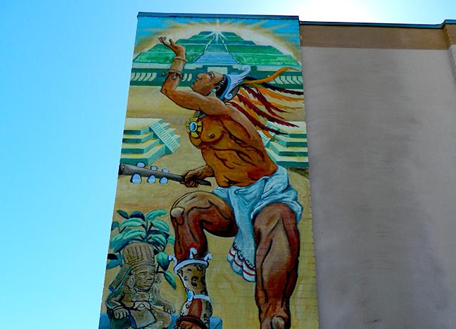 1480 North Main  -La Academia Delores Huerta Spray Paint Artist Unknown Year Unknown
