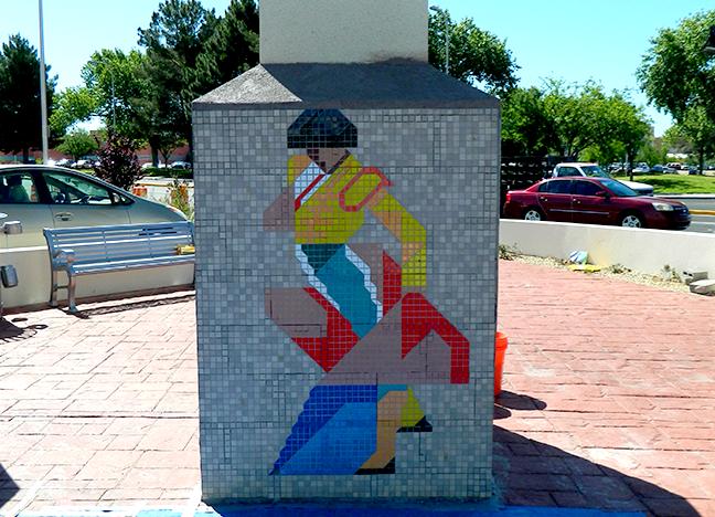 940 North Main/Corner of Picacho - CVS Ceramic Tile Mosaic Artist Unknown Year Unknown