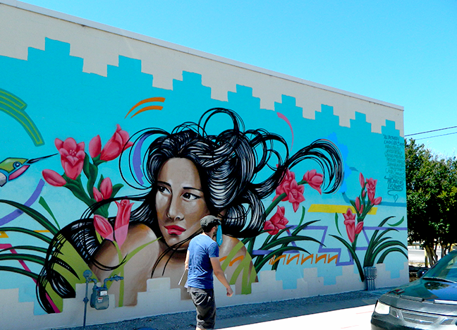 211 N Water St - LC Visitors Bureau Spray Paint Multiple Artists 2015