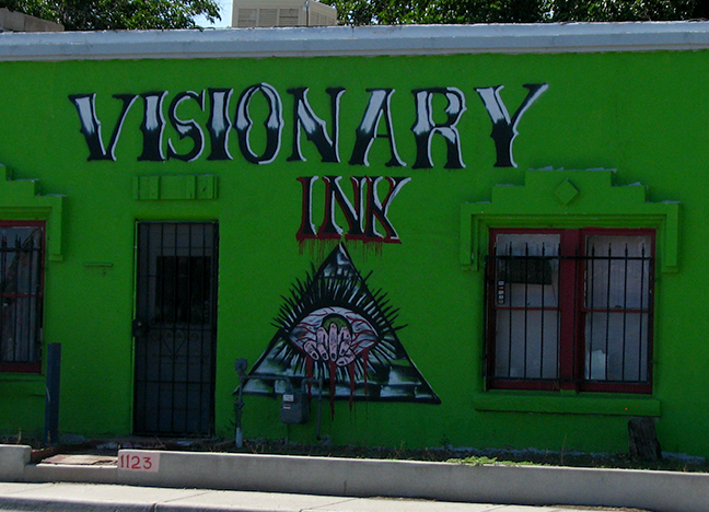 1123 Picacho Avenue Spray Paint Artist Unknown Date Unknown