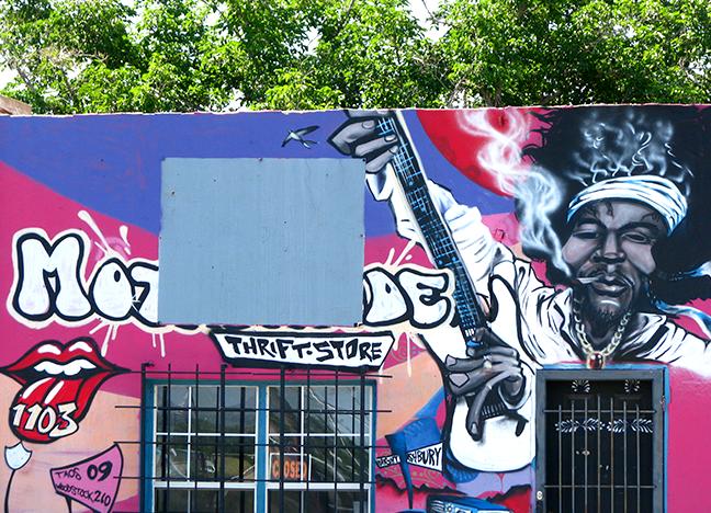 1403 Picacho Avenue Spray Paint Saba Date Unknown