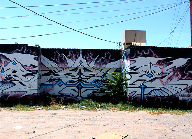 1211 E Idaho - Phat Glass Spray Paint Multiple Artists Date Unknown