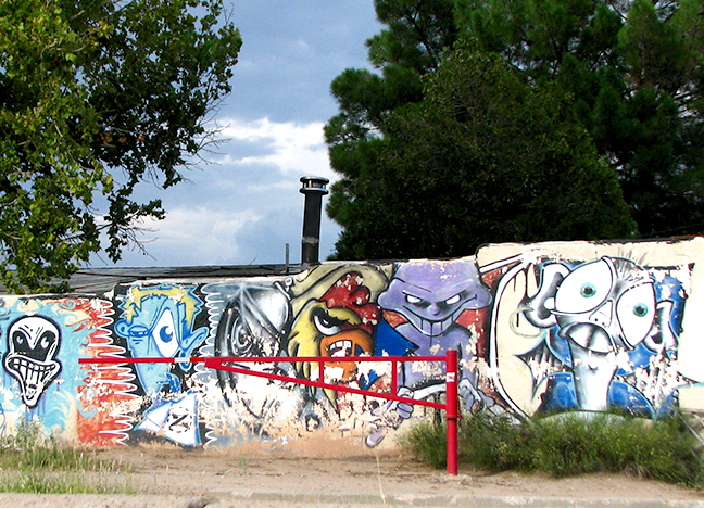 270 Avenida de Mesilla  Guzman's Greenhouse Spray Paint Multiple Artists Date Unknown