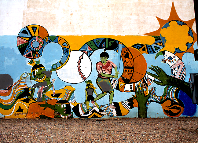 Untitled Spray Paint Leslie Zerr 1999