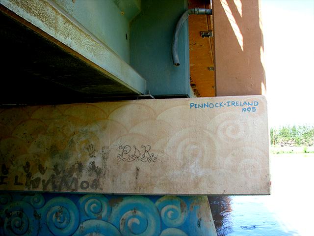 La Lloraona Park overpass