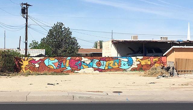 Lizard mural located across Good Luck cafe on Solano. 🦎 #muralsoflascruces #lascruces #muralhunter #newmexico #murals #publicart #putamuralonit