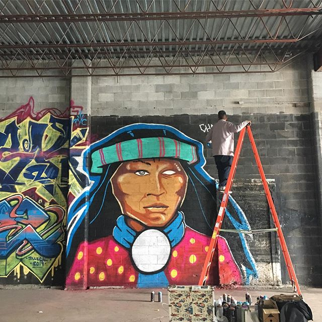 Illegal art show 2019 @barricadecultureshop #newmexico #muralsoflascruces #lascruces