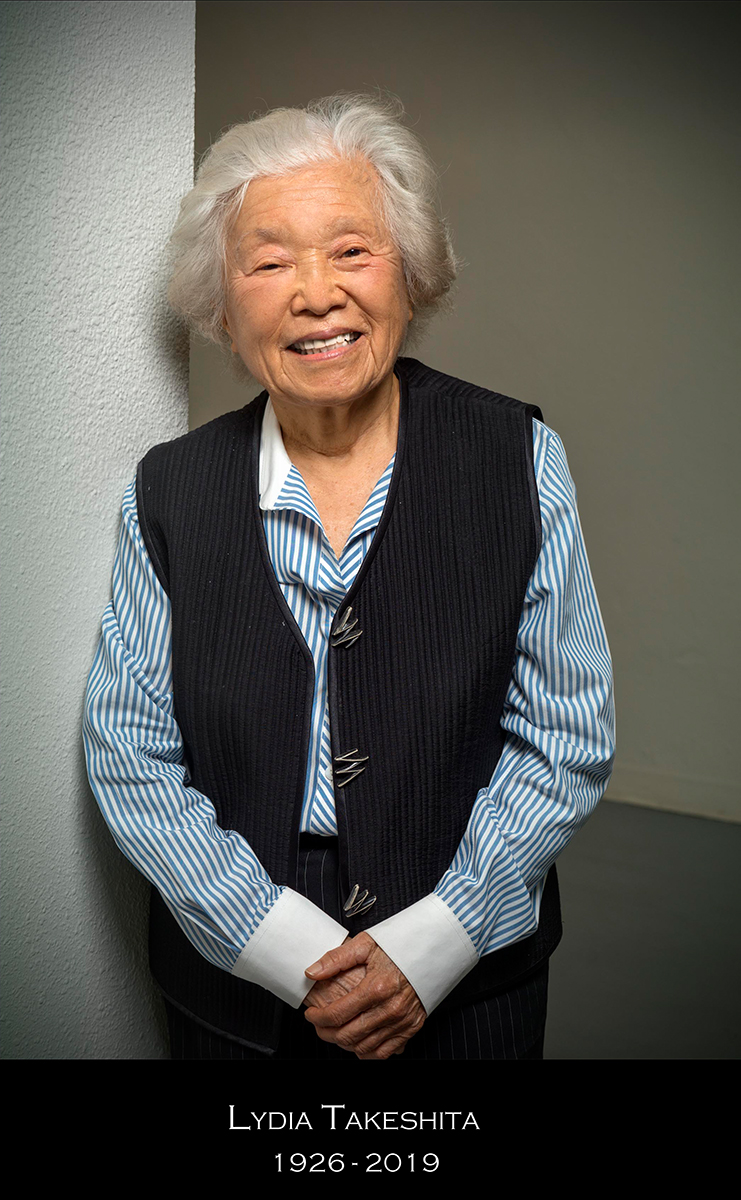Lydia Takeshita - Founder and Executive Director of LA Artcore for 40 years. Takeshita was a mentor and friend to many. LA Artcore and the Takeshita family certainly appreciate the kind words, encouragements, and condolences that have been sent in many forms as we share in this moment of reflection together.A memorial service will be held on Sunday, June 23rd, at 4 p.m. in the courtyard of Union Center for the Arts. Please stay tuned for more information.LA Artcore would like to thank the Takeshita family.Learn more about Lydia Takeshita's contributions on Instagram:LA ArtcoreDepartment of Cultural Affairs
