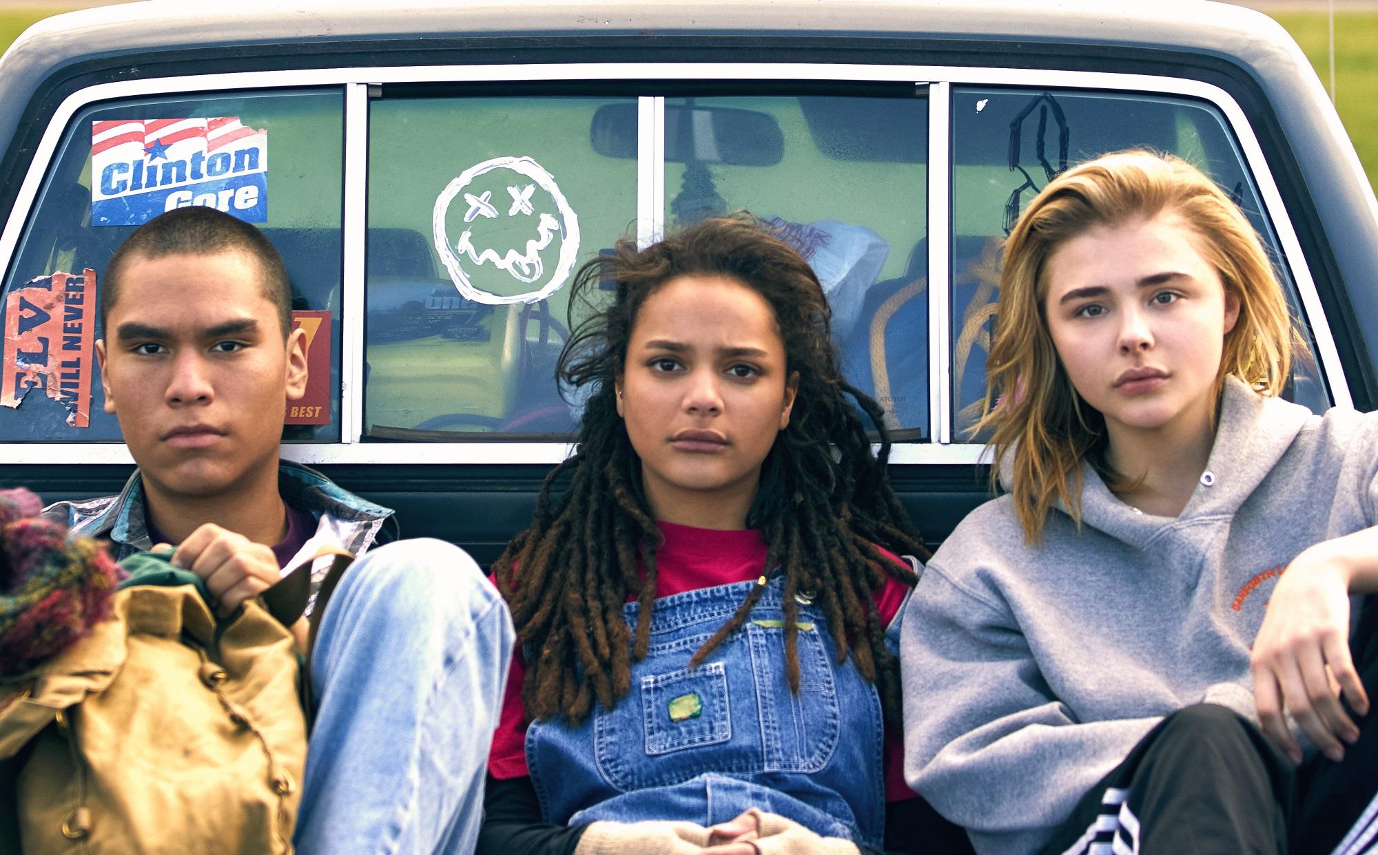 Forrest Goodluck, Sasha Lane and Chloe Grace Moretz.